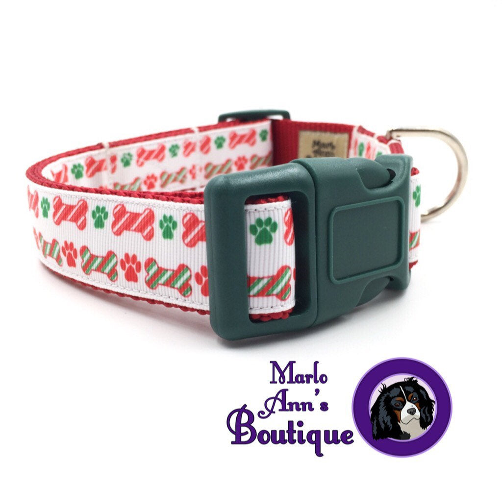 Christmas Dog Treats Dog Collar