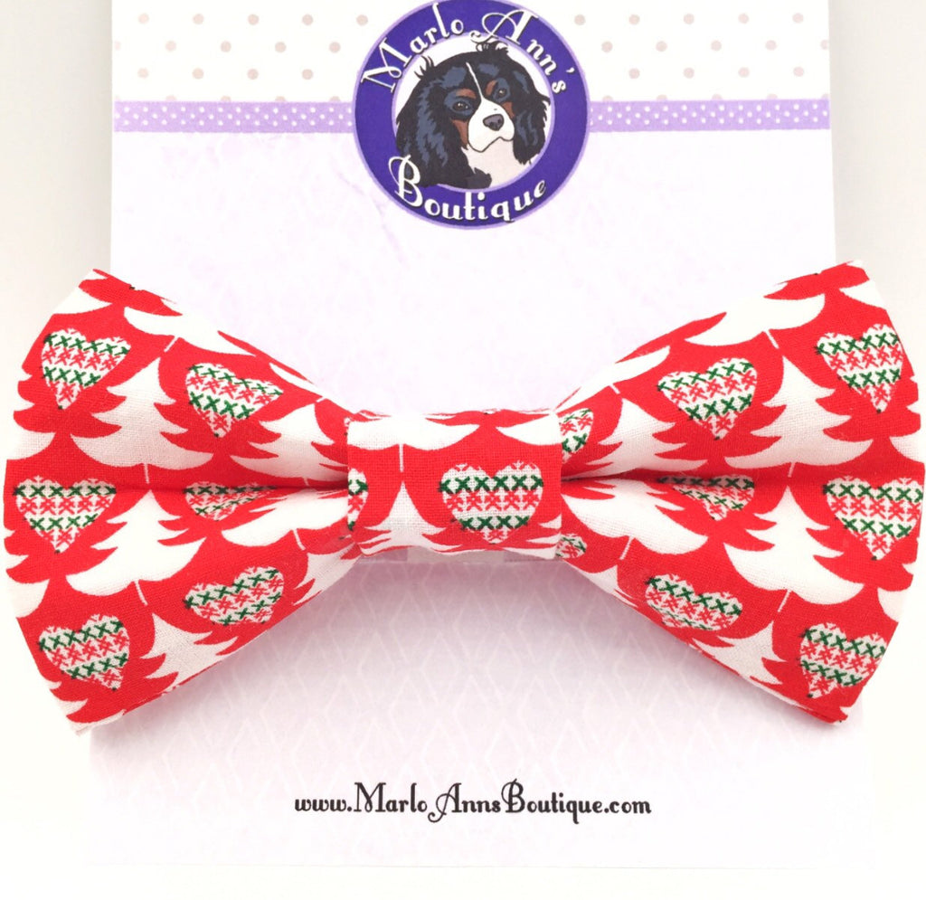 Christmas Sweater Bow Tie