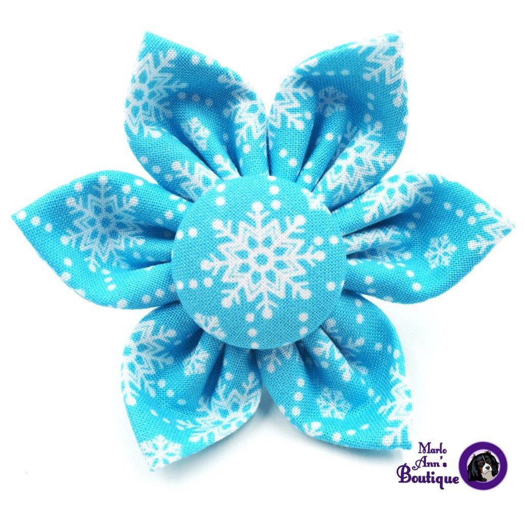 Blue Snowflake Flower