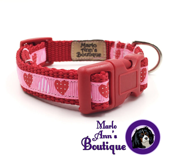 XS / Puppy Hearts Dog Collar