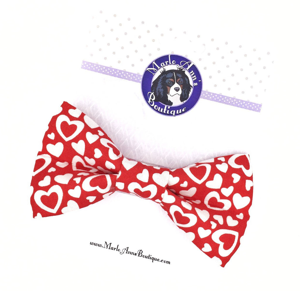 Open Hearts Bow Tie