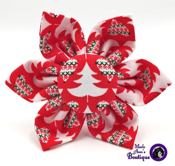 Christmas Sweater Flower