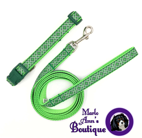 Emerald Diamonds Dog Collar
