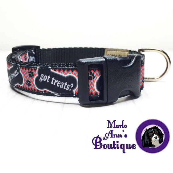 Got Treats Dog Collar