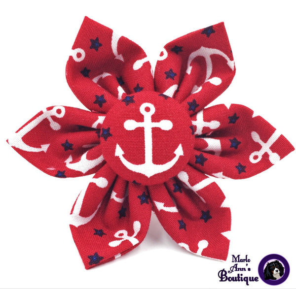 Patriotic Anchor Flower