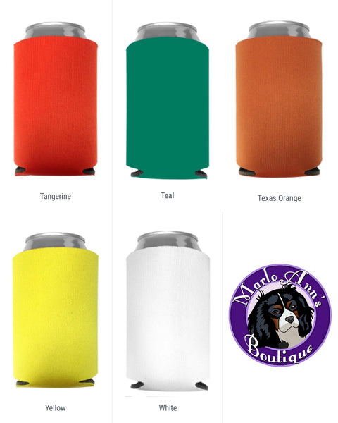 #1 Dog Dad Can Cooler