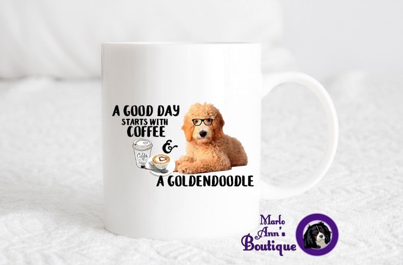 Coffee & A Goldendoodle