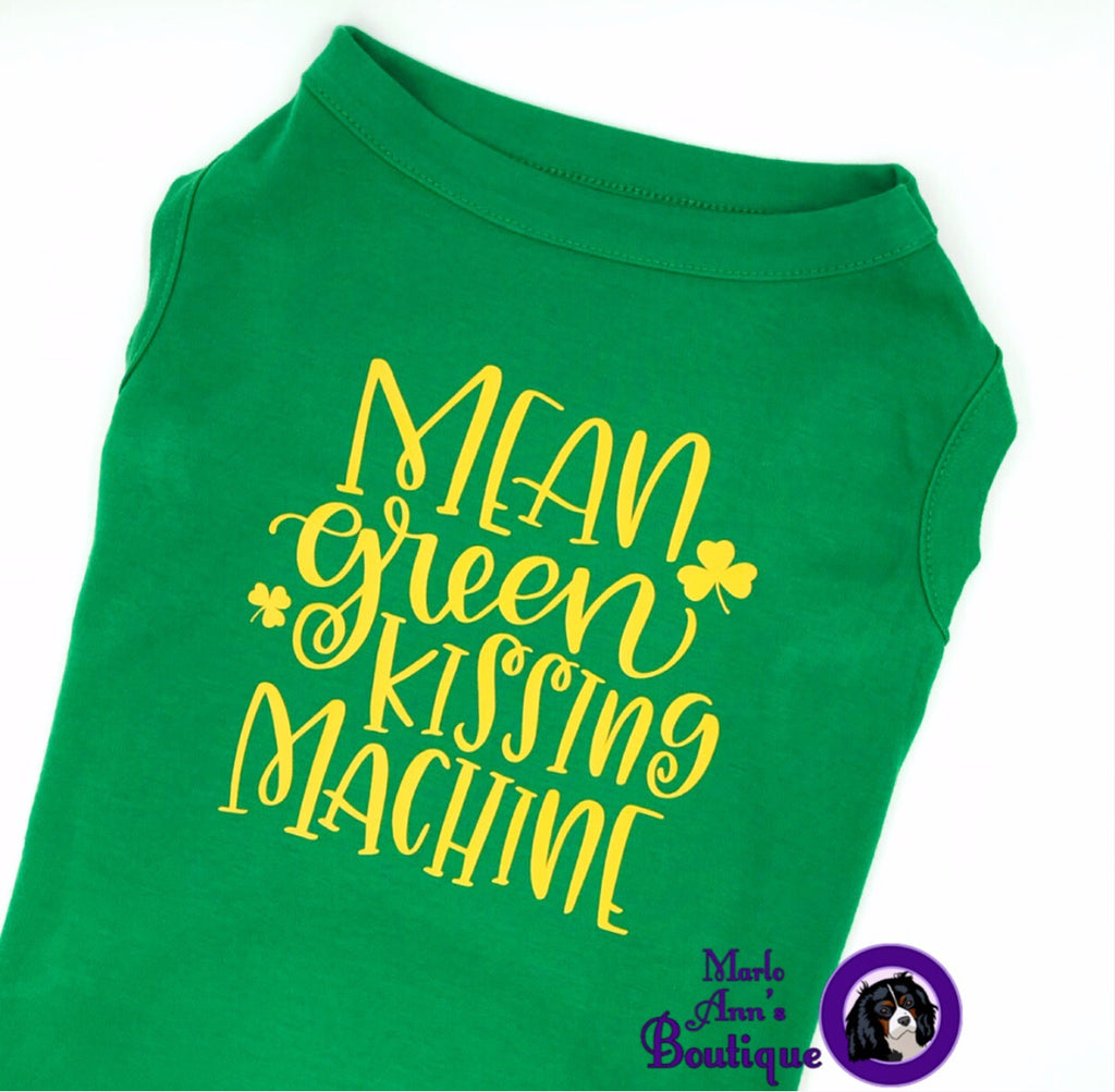 St Patricks Day Pup Tee Marlo Anns Boutique