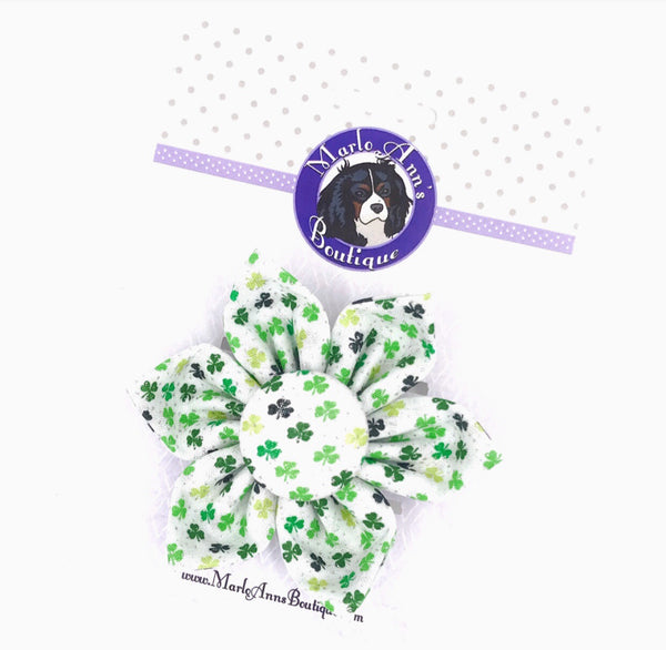 Shamrock Dog Flower