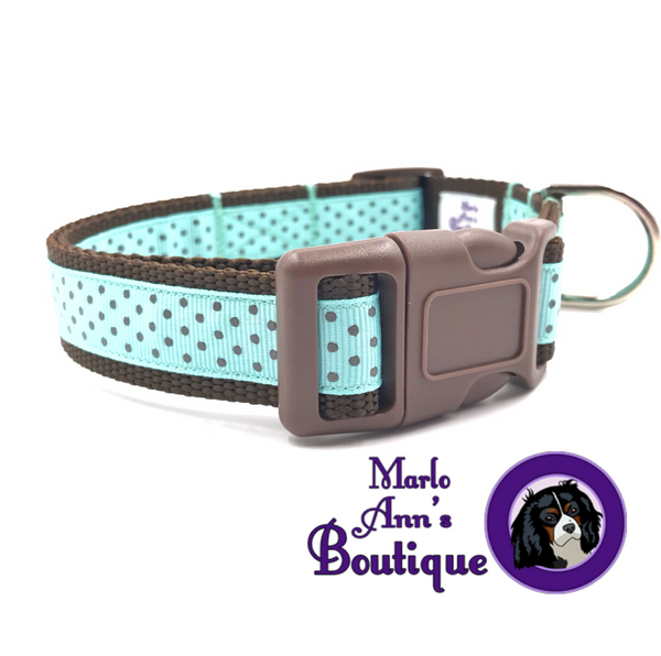 Mint Chocolate Chip Dog Collar