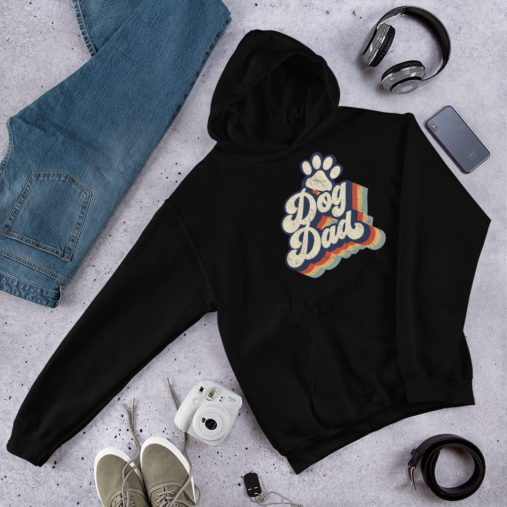 Retro Dog Dad Sweatshirt