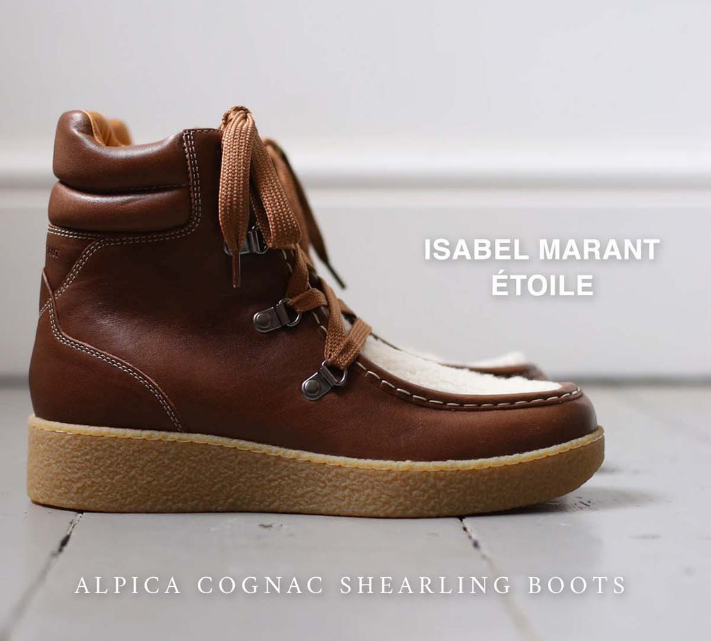 Isabel Marant Etoile Alpica Shearling Boot
