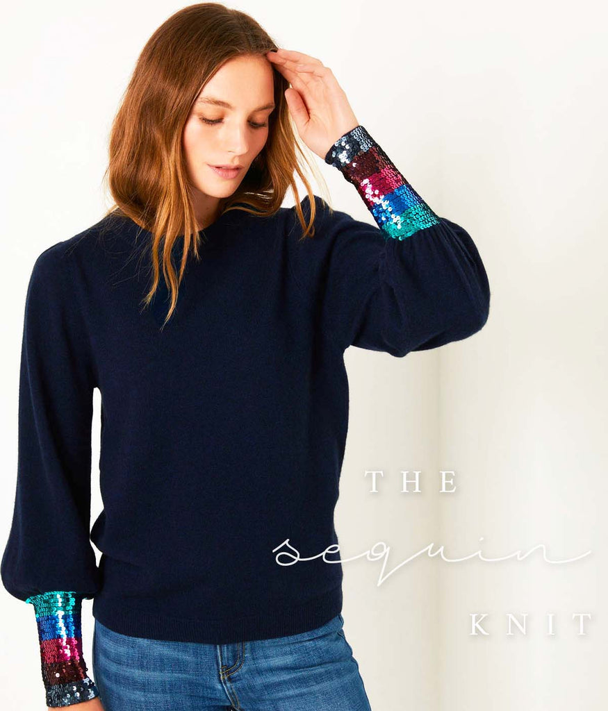 Fran Sequin Cashmere Wyse London