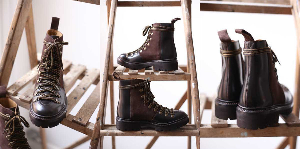 Grenson Brown Nanette Hiker Boot UK Stockist