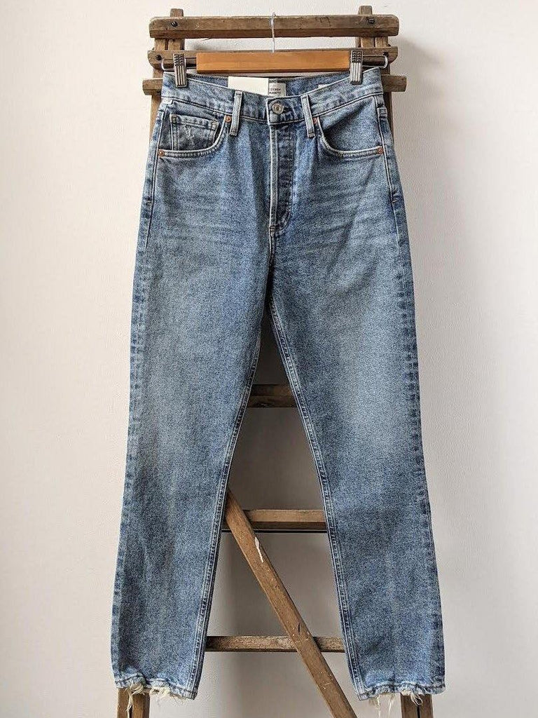 CITIZENS OF HUMANITY Jolene High-Rise Vintage Slim Dimple Jeans