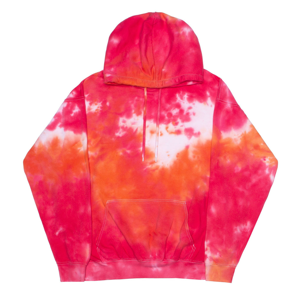 L'Orange Tie-Dye Hoodie VENDOR LA DETRESSE
