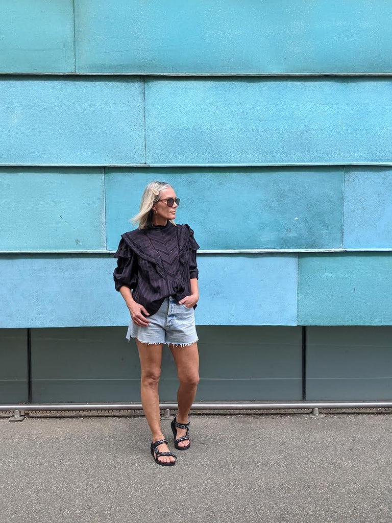 Marlow Vintage Fit Taormina Denim Shorts by CITIZENS OF HUMANITY
