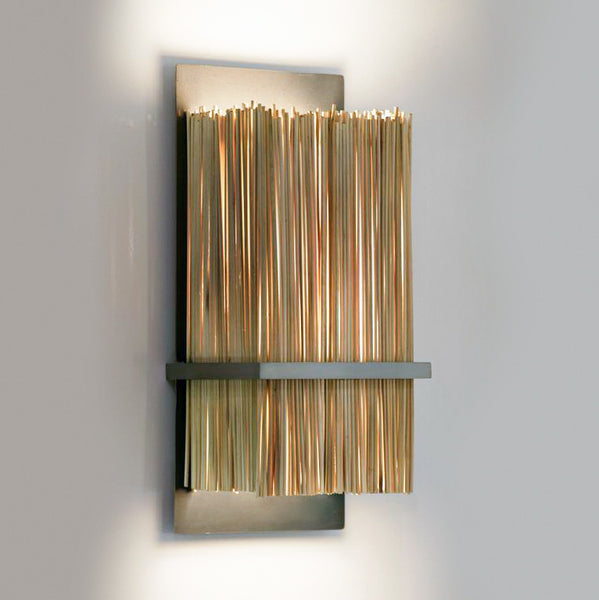 Bamboo Wall Sconce Ridgely Studio Works
