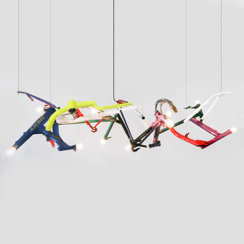 BICYCLE Chandelier - Linear