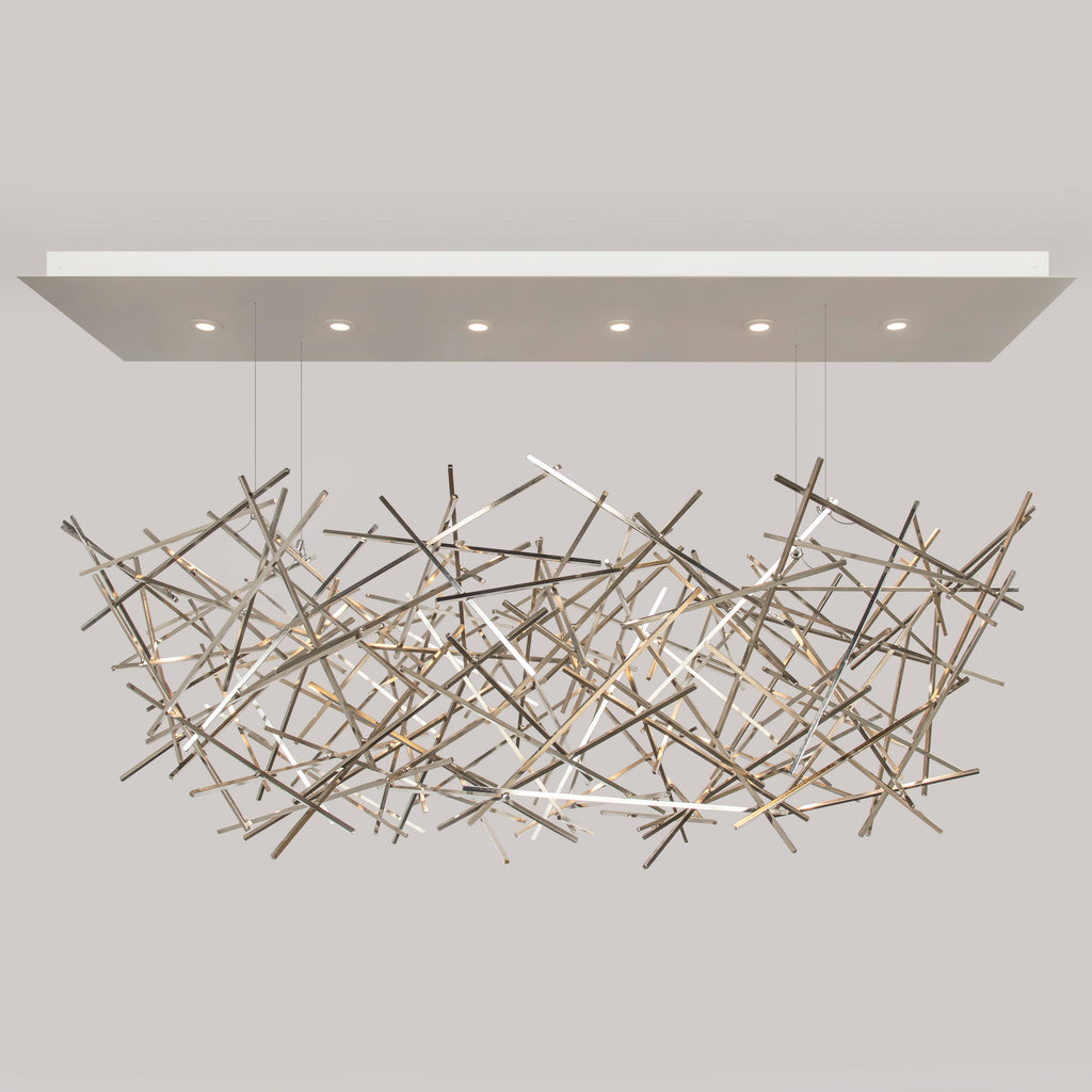 CRISS-CROSS Chandelier