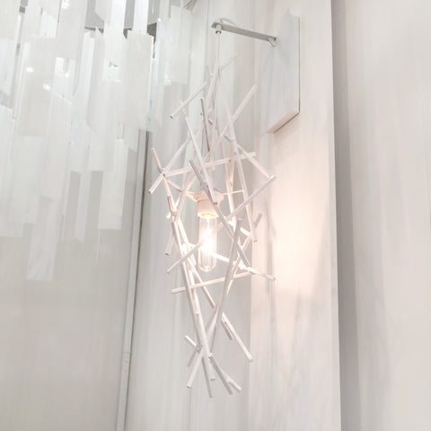 CRISS-CROSS Sconce