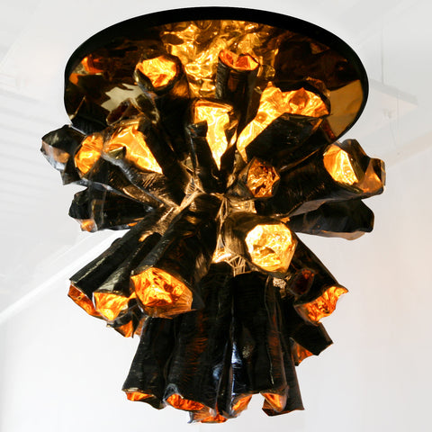LUSTER Chandelier (Flush Mount)