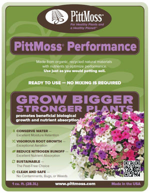 PittMoss® Performance - Nutrient Enhanced Blend
