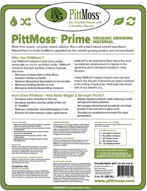 PittMoss® Prime - Soil Conditioner