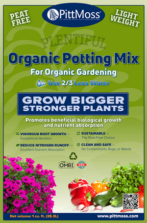 PittMoss® Plentiful- Organic Potting Mix