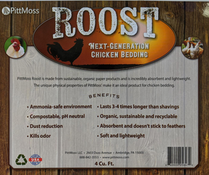 PittMoss Roost- Poultry Bedding