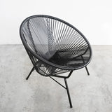 Sangkar Lounger (Black)