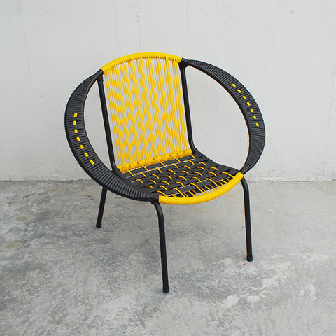 Bulat Sabit 1 (Black/Yellow)