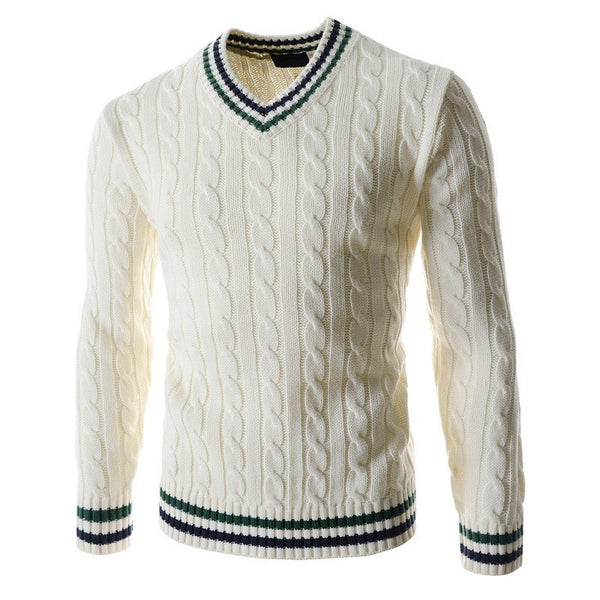 Sweater available 3 colors green/beige/navy blue
