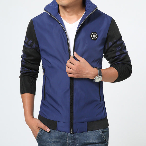 Jacket available colors yellow/red/khaki/blue