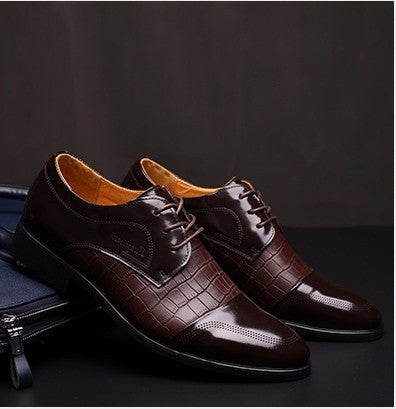 Genuine Leather Oxford Shoes available 2 colors black/brown