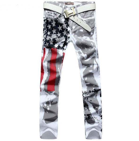 American flag jeans