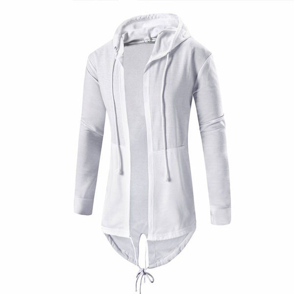 Men's Long Sweatshirt Hooded 2 colors
