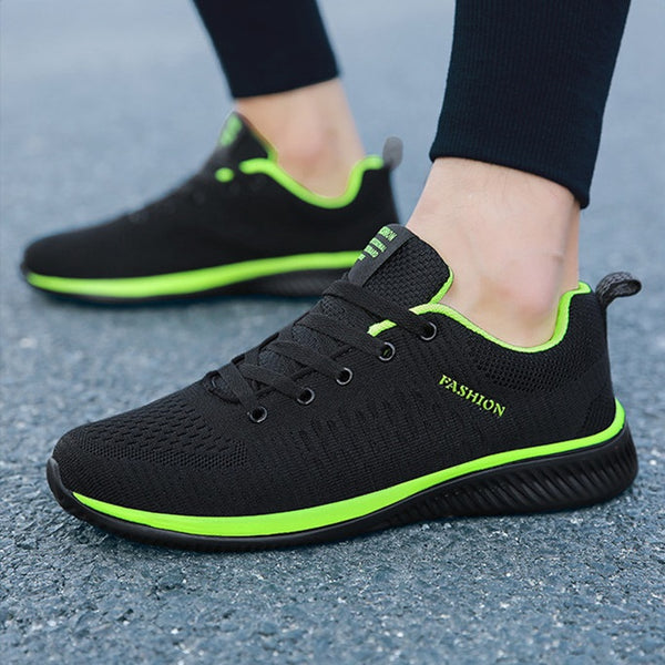 Men's shoes lightweight breathable running shoes 3 colors