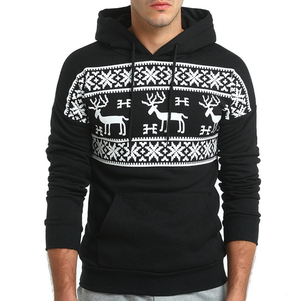 Pullover hoodie for men 2 colors
