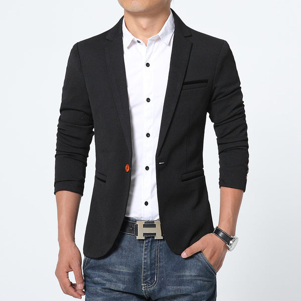 Blazer available in 3 colors blue/navy/black/beige