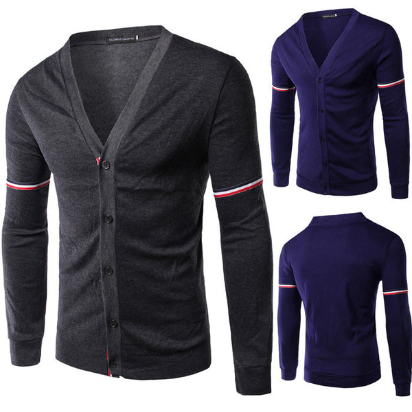 Slim Casual cardigan available 3 colors navy/gray/dark gray