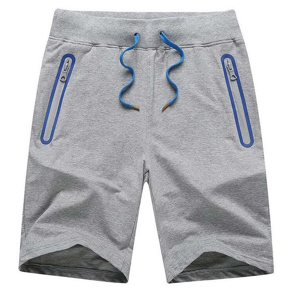 Casual Straight Shorts available 3 colors blue/light gray/dark gray
