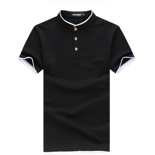 POLO shirt available 3 colors black/white/navy