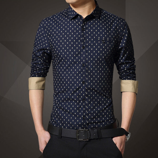 Casual Shirt available 4 colors blue/khaki/red/white
