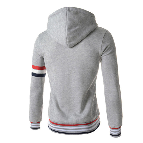 Hoodie Hooded avaialble 2 colors black/light gray