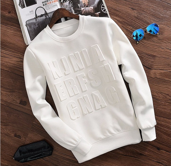 Autumn Spring summer Hoodie 3D available 2 colors white/black