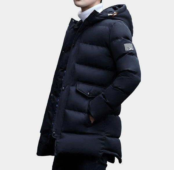 Winter men's long  jacket 4 colors