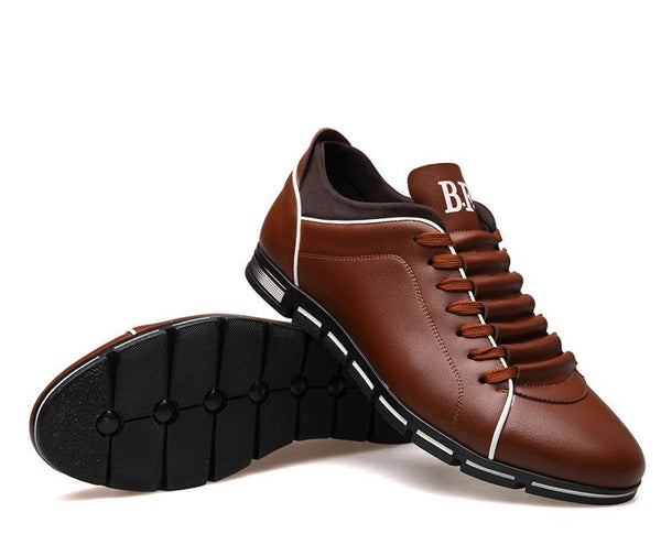 Spring/Autumn casual shoes available 2 colors black/brown