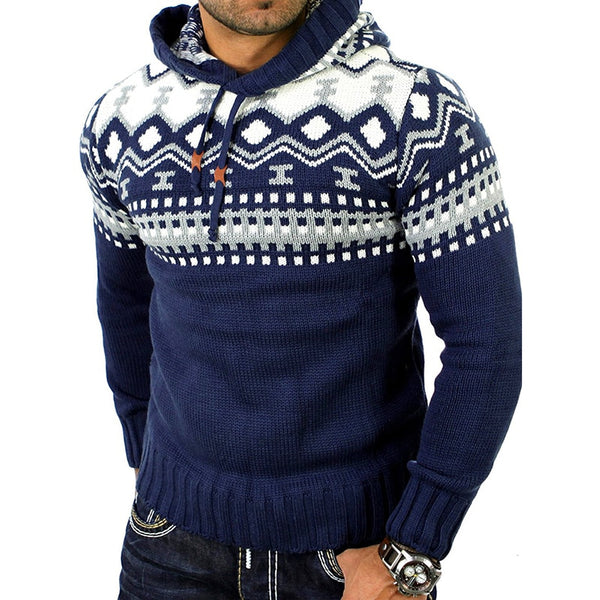 Men's hooded sweater 3 colors