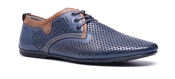 Breathable Summer shoes available 2 colors blue/black